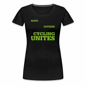 Cycling unites - Frauen Premium T-Shirt