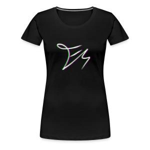 Ethan Squire's signature - Women's Premium T-Shirt