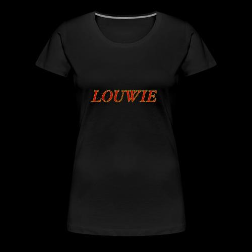 Louwie taxt - Premium-T-shirt dam