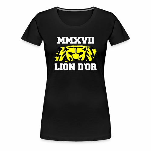 Lion_eyes - Frauen Premium T-Shirt