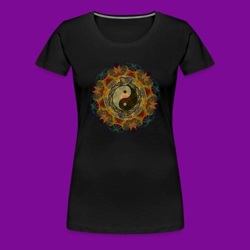 Fractale Claire Obscure - T-shirt Premium Femme