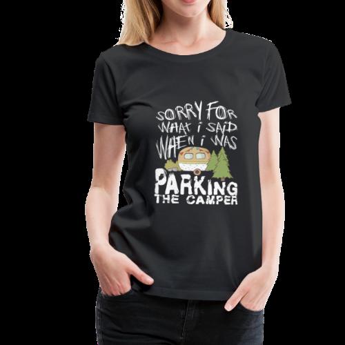 zelten camping camper zeltlager - Frauen Premium T-Shirt