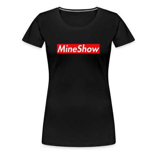 MineShow Box-Logo - Frauen Premium T-Shirt