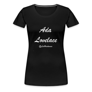 AdaLovelace Brush - T-shirt Premium Femme