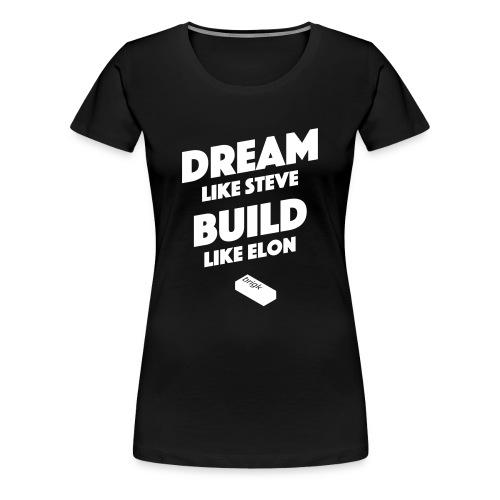 Steve vs. Elon - Frauen Premium T-Shirt