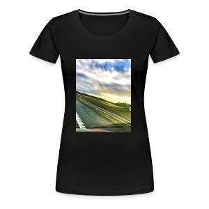 Sunset - Premium T-skjorte for kvinner