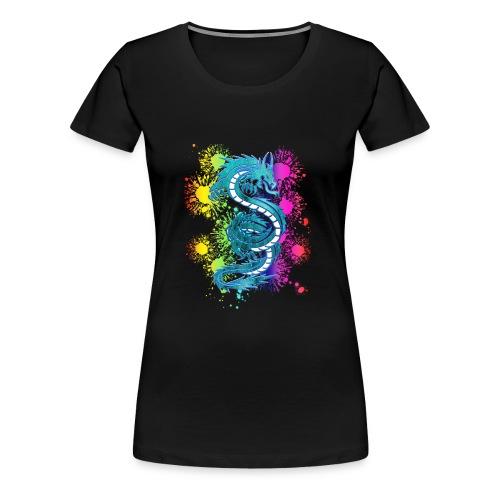 drache2 - Frauen Premium T-Shirt