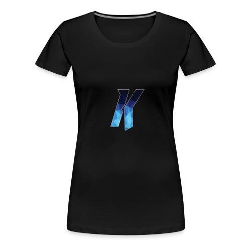YoutubeKingsNL Logo T Shirt - Vrouwen Premium T-shirt