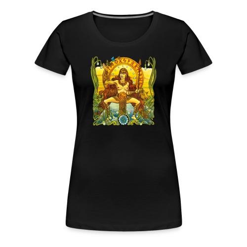 Freja - Premium-T-shirt dam