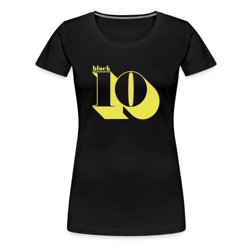 block10 - retro edition - Frauen Premium T-Shirt