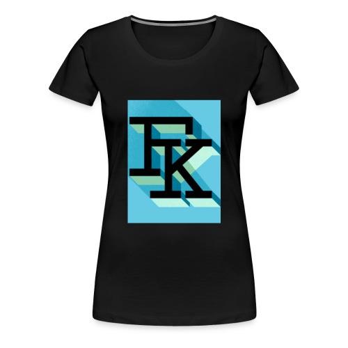FK - T-shirt Premium Femme