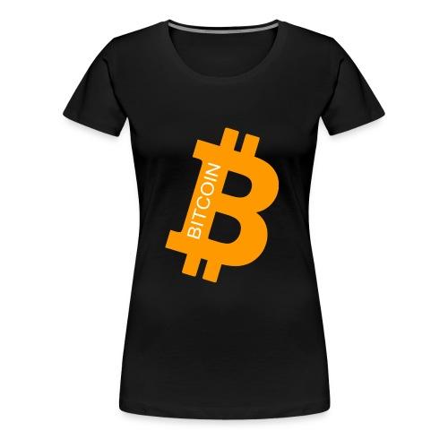 Bitcoin Orange - Frauen Premium T-Shirt