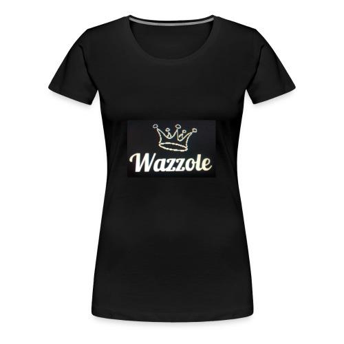 Wazzole crown range - Women's Premium T-Shirt