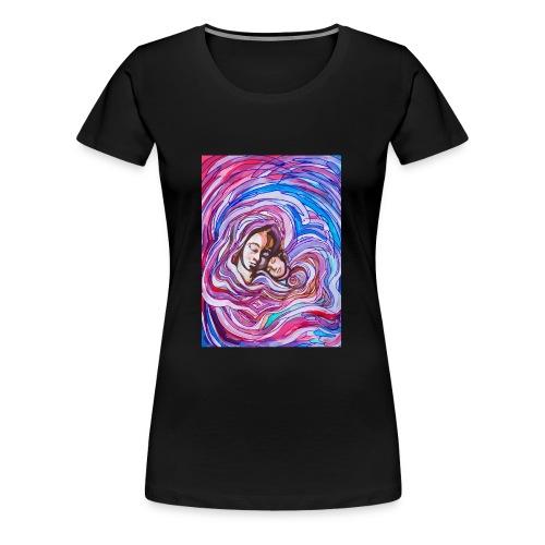 Heilige Mutter mit Kind - Frauen Premium T-Shirt