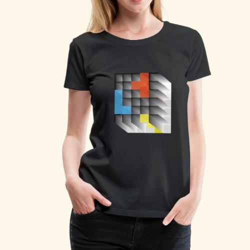 Vintage Block Game - Women's Premium T-Shirt