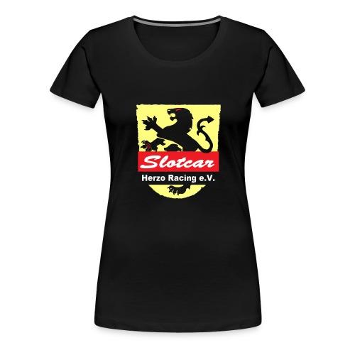 HR Logo Transparent (für schwarze Hintegründe) - Frauen Premium T-Shirt
