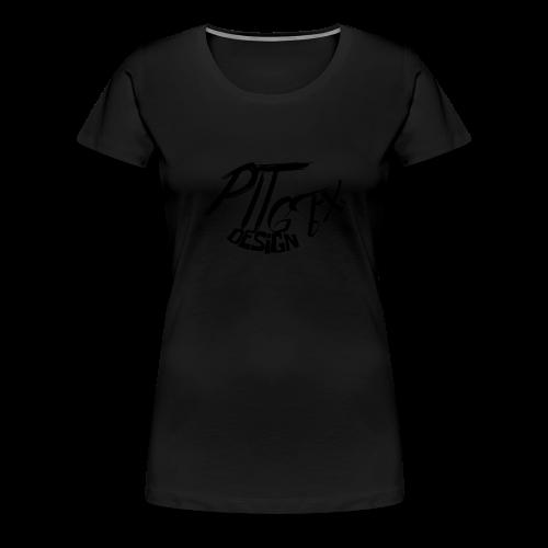 PitGFX Design Official T-Shirt - Maglietta Premium da donna