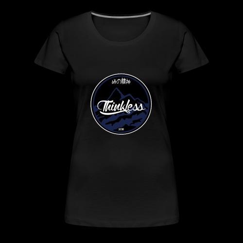 THINKLESS LOGO - T-shirt Premium Femme