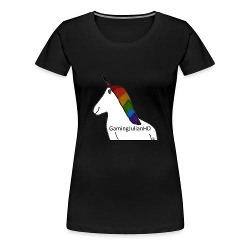 Einhorn gezeichnet - Frauen Premium T-Shirt