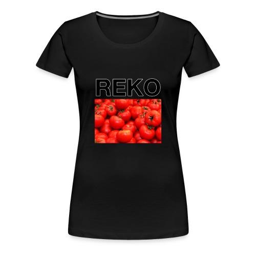 REKOpaita tomaatti - Naisten premium t-paita