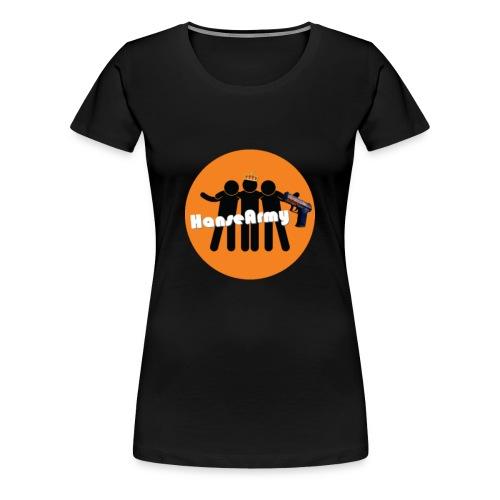 HanseArmy Shoppen - Dame premium T-shirt