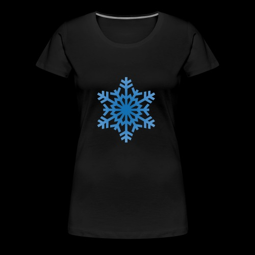 Snowflake - Dame premium T-shirt