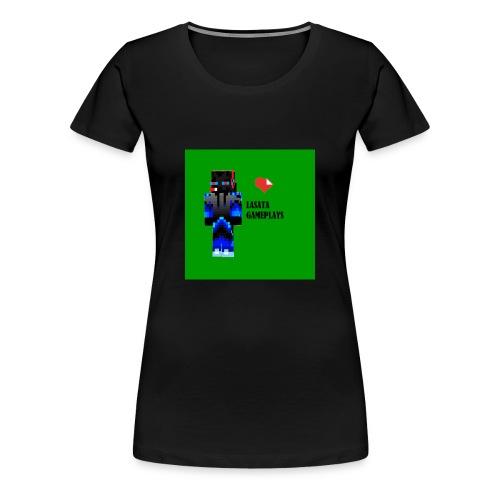 Adoro Lasata gameplays - Camiseta premium mujer