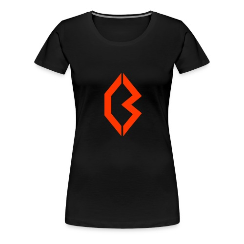 Orange Logo - Women's Premium T-Shirt