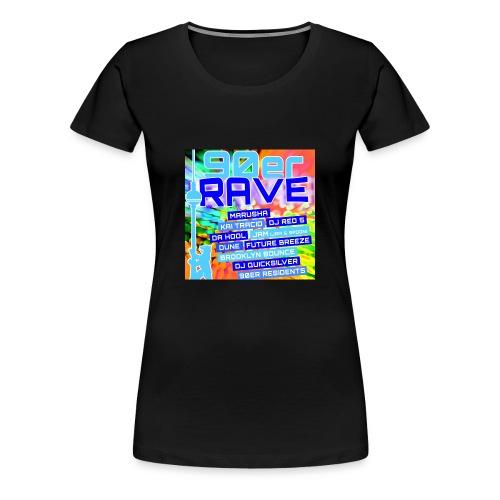 90erRave - Frauen Premium T-Shirt