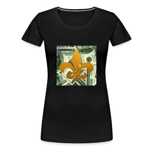 DonBehavior's fleur de lis - Women's Premium T-Shirt