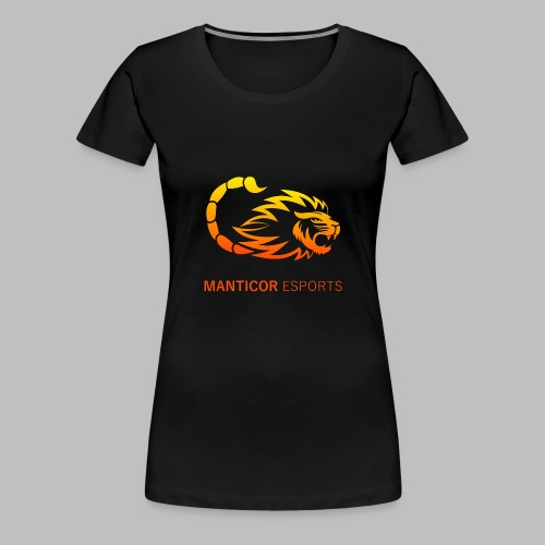 Manticor Textlogo - Frauen Premium T-Shirt