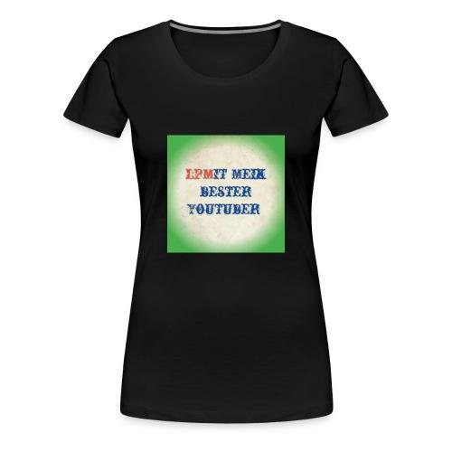 LPMIT_Meik_2 Schriftzug Bund - Frauen Premium T-Shirt