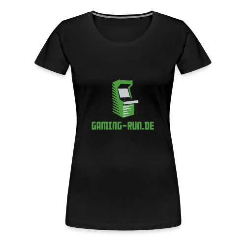 Gaming-Run.de - Frauen Premium T-Shirt
