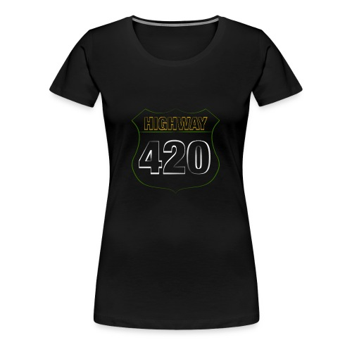 HIGHWAY420 - Frauen Premium T-Shirt