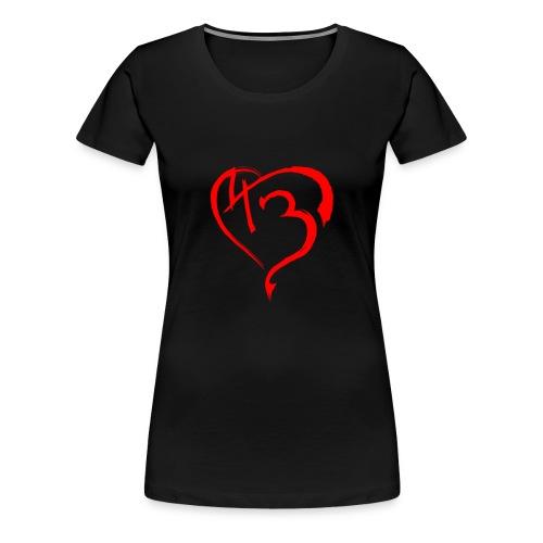 43 dianobeats heart - Frauen Premium T-Shirt
