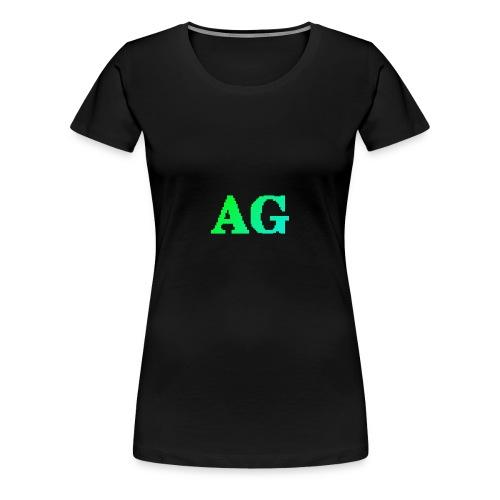 ATG Games logo - Naisten premium t-paita