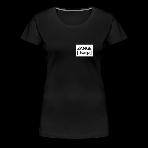 Kleine Zange - Frauen Premium T-Shirt