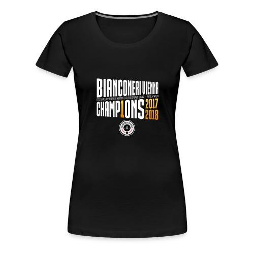 Bianconeri Vienna Champions - Frauen Premium T-Shirt