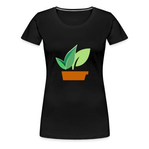 Pflanze - Frauen Premium T-Shirt