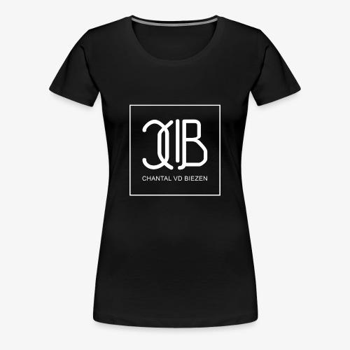 Chantal Vd Biezen Fan Artikel (logo-weiß) - Frauen Premium T-Shirt