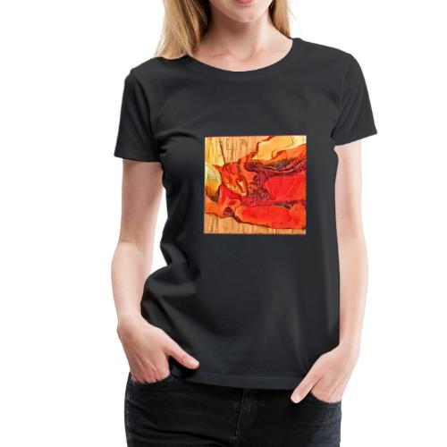 drape boise poster and other - T-shirt Premium Femme