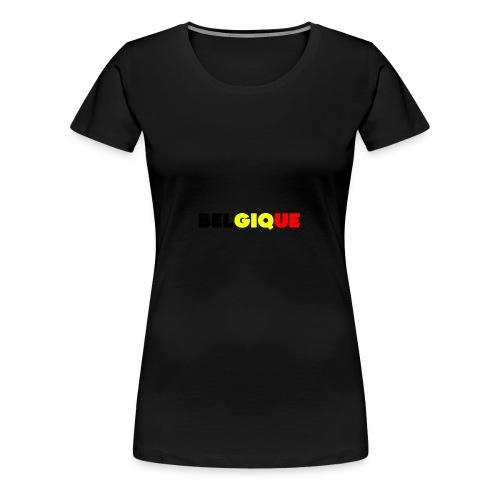 Belgique - T-shirt Premium Femme