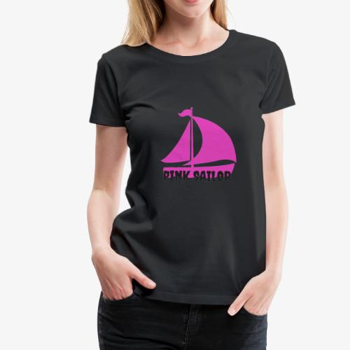 PINK SAILOR - Premium-T-shirt dam