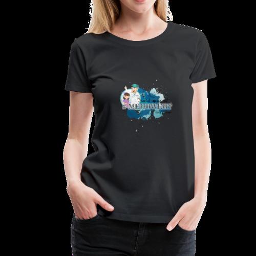 Mehrwert mit Richtig Schwanger - Frauen Premium T-Shirt