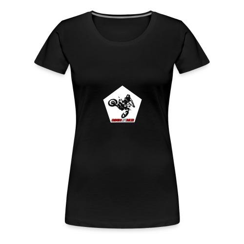 logo de la boutique officiel - T-shirt Premium Femme