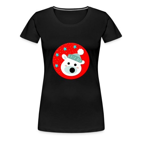 Winter bear - Women's Premium T-Shirt