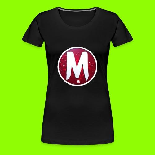 MADLOGO - Dame premium T-shirt