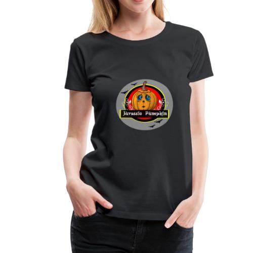 Jurassic Pumpkin - Frauen Premium T-Shirt