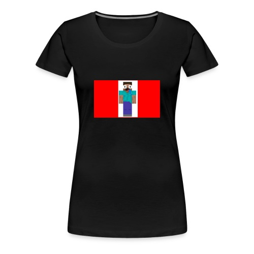 mine craft derp skin t shirt - Women's Premium T-Shirt
