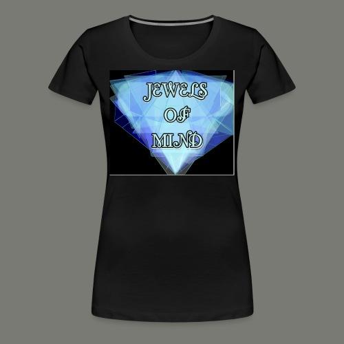 JEWELS OF MIND - Frauen Premium T-Shirt